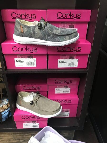 Corky's Kayak casual slip on shoe