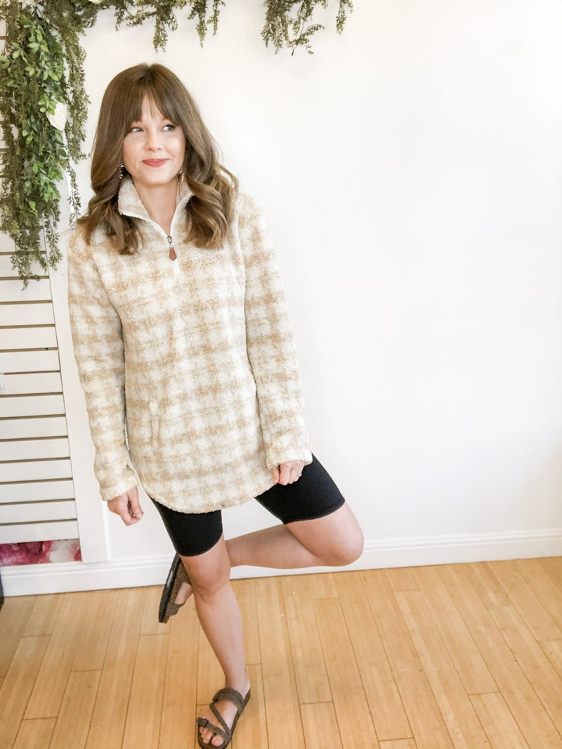 Taupe Pullover