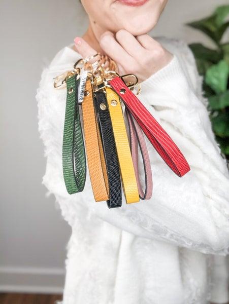 Classic Wristlet Keychain  -6 colors *Final Sale*