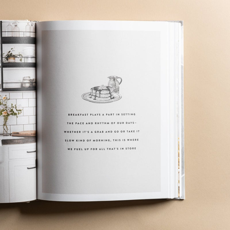 Magnolia Home Cookbook -2  designs