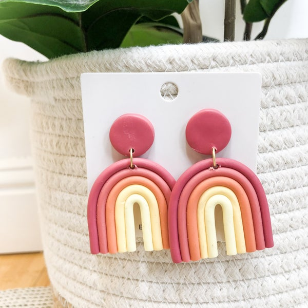 Rainbow Earrings - 4 colors