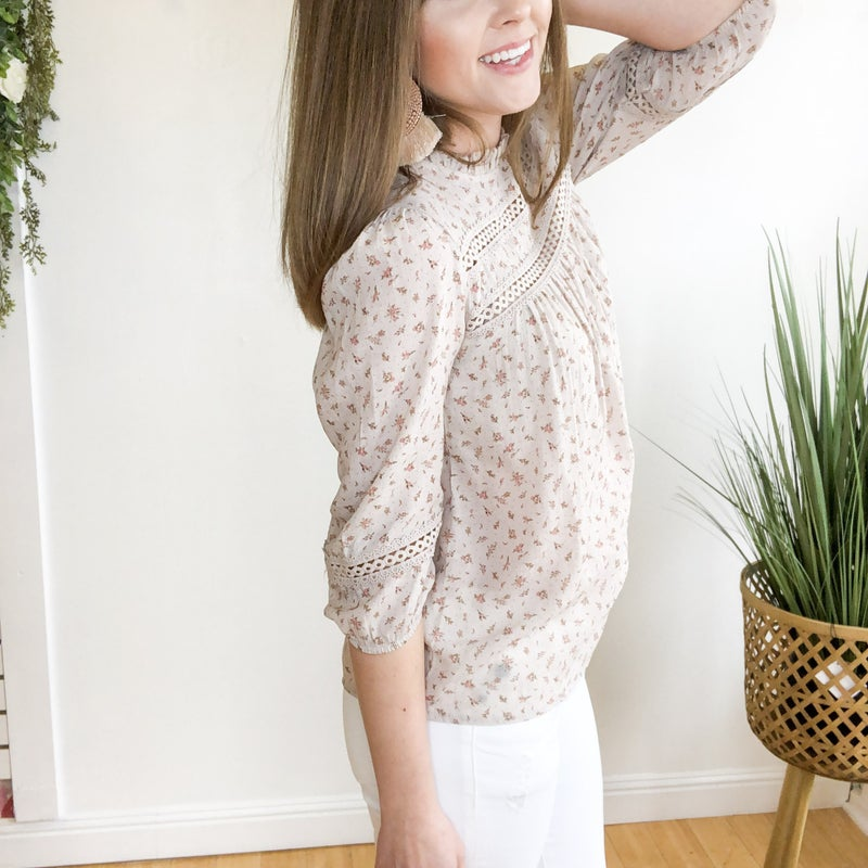Ava Floral Top