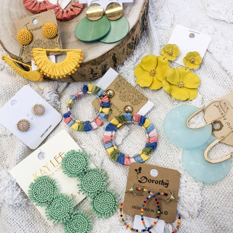 Spring Time Fun Earring Collection