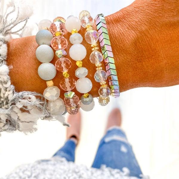 Savvy Bling Bracelet Set - 3 styles