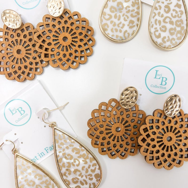 Sweetly Spring Earring Colleciton