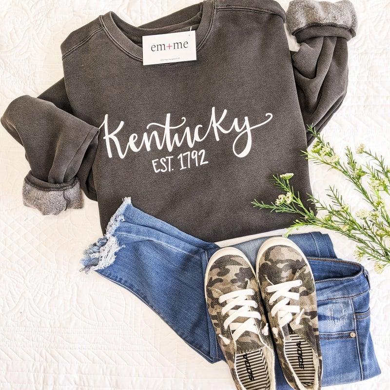 Grey Kentucky Sweatshirt +