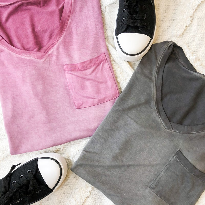 Mineral Wash Tee - 2 colors