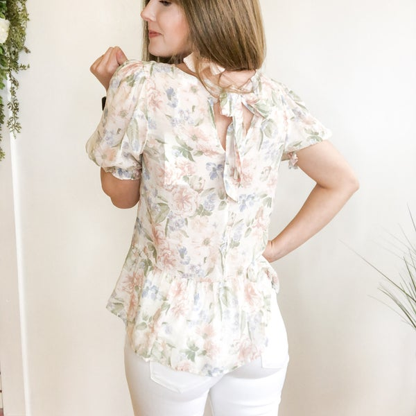 Simply Sara Floral Top