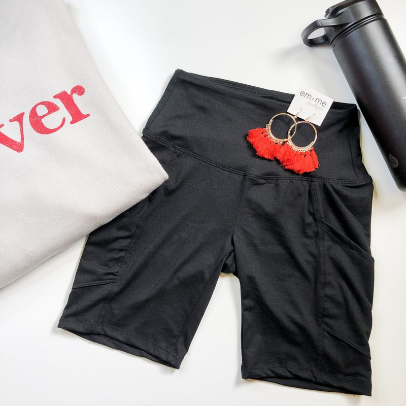 Biker Short with pockets