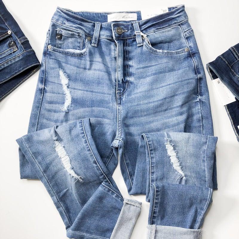 KanCan High Rise Curvy Fit Jean +