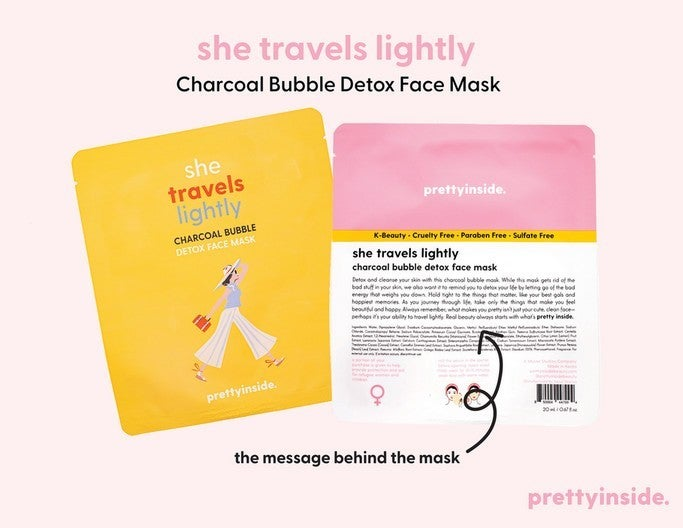 She Travels Lightly Face Mask - 8 pc.