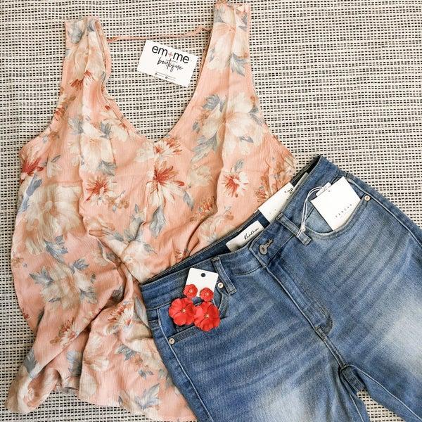 Blush Floral Top
