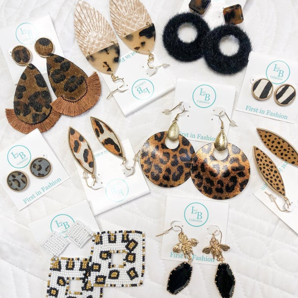 Wild at Heart Earring Collection