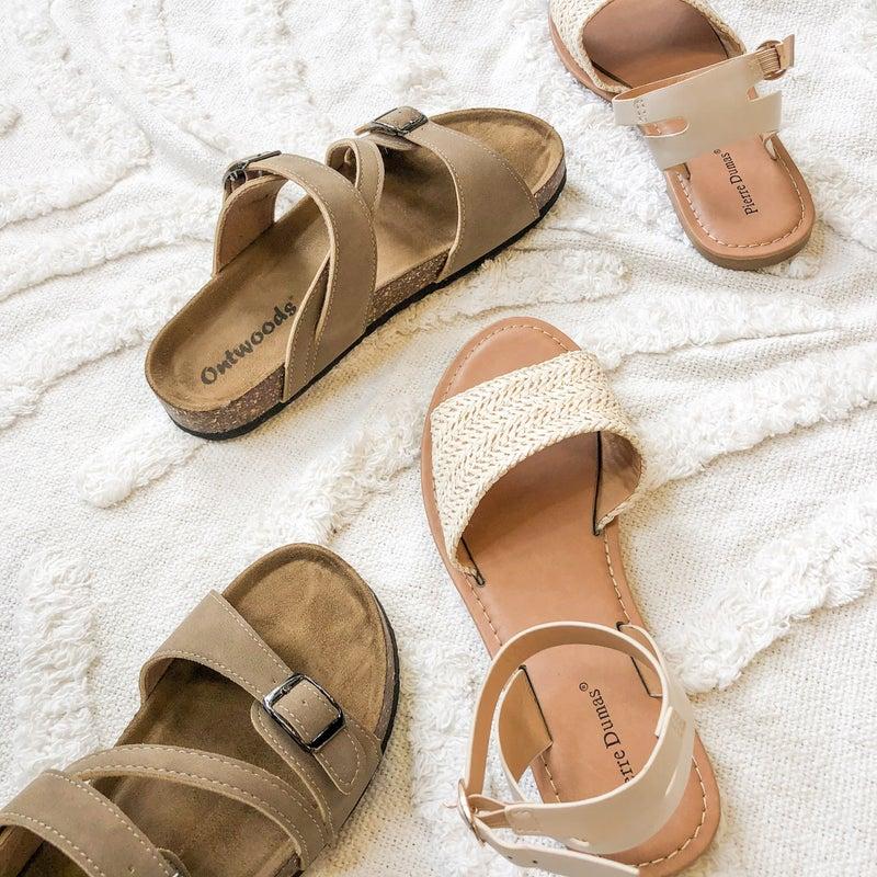 Creamy Nude Sandal