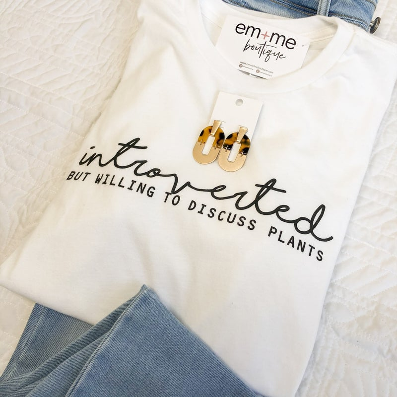 Introverted Plant Tee