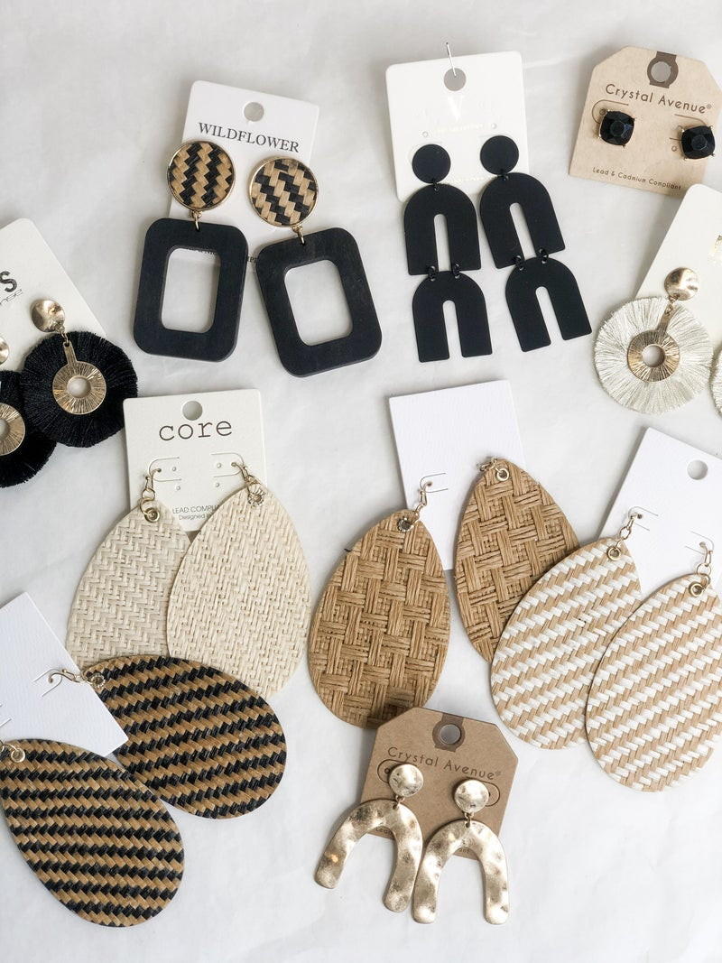 Weave & Hammer Earring Collection
