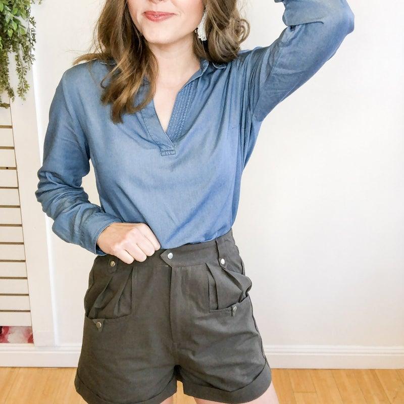 Carbon Gray Shorts