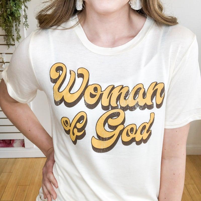 Woman of God Tee