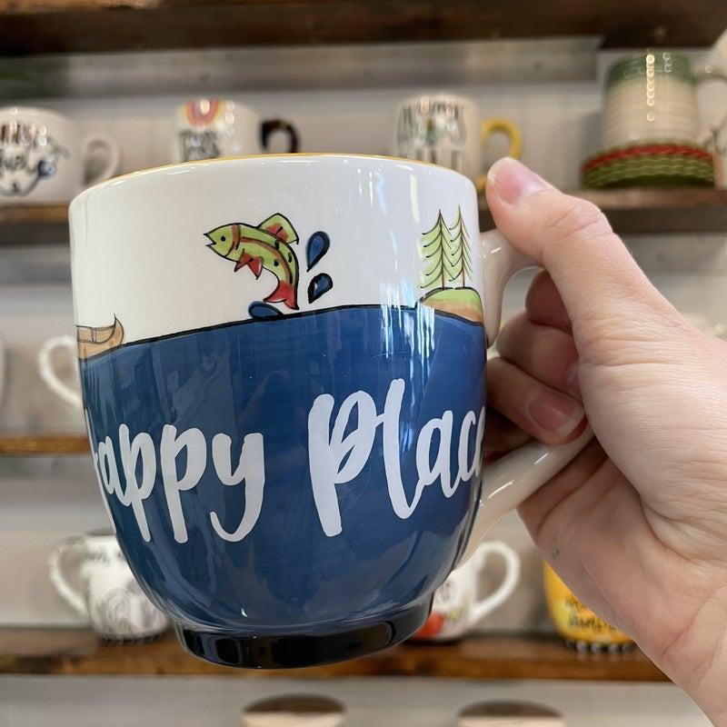 Lake = Happy Place Mug