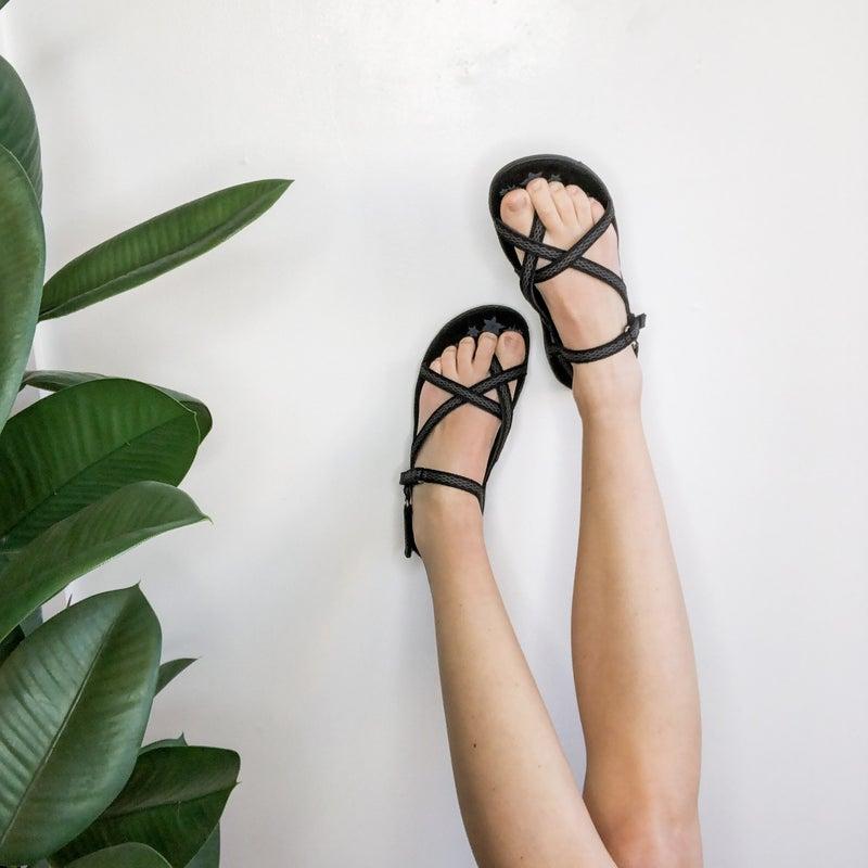 Outdoor Sandal in Black