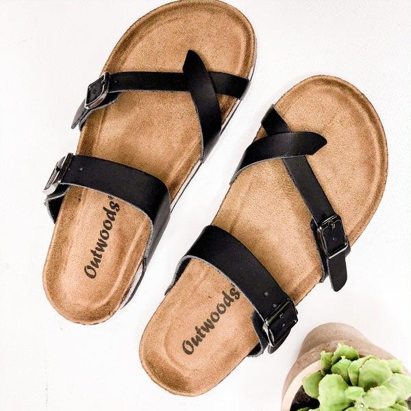 Black Birk Sandal