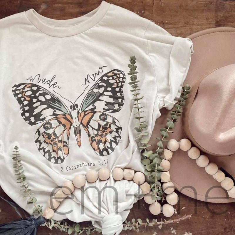 Made New Butterfly Tee +