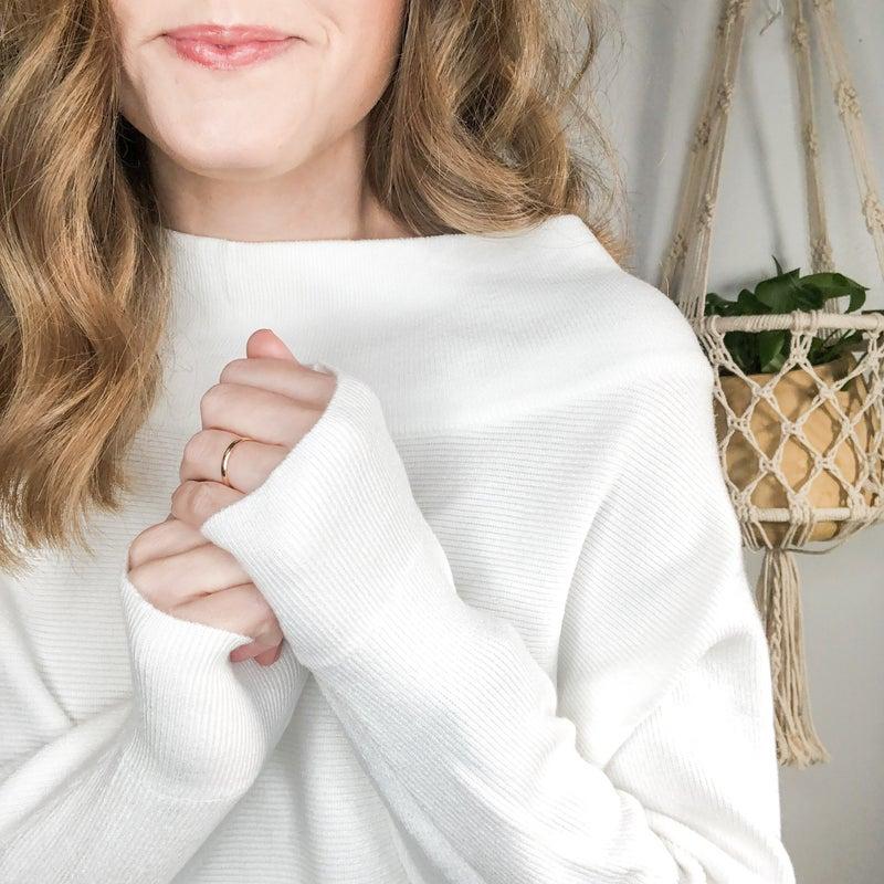 Simple Crop Sweater