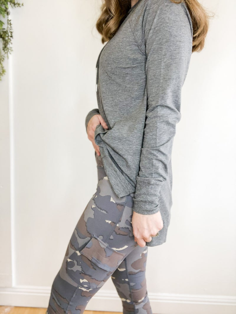 Camo Cargo Leggings  +