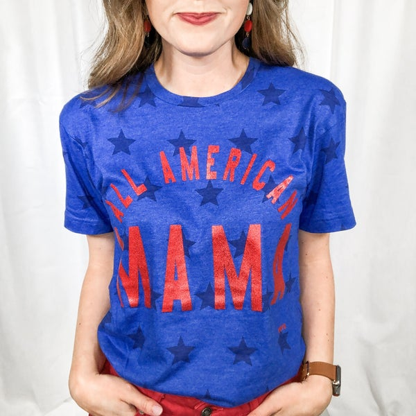 All American Mama Tee +