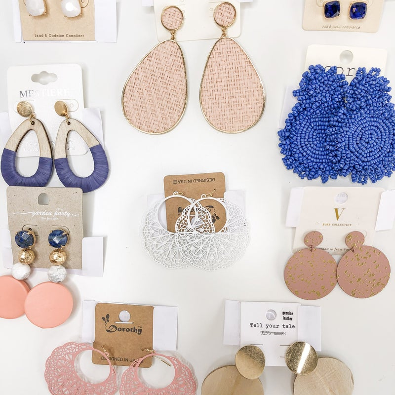 Sea & Sand Earring Collection
