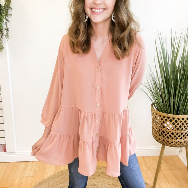 Carly Tiered Blouse