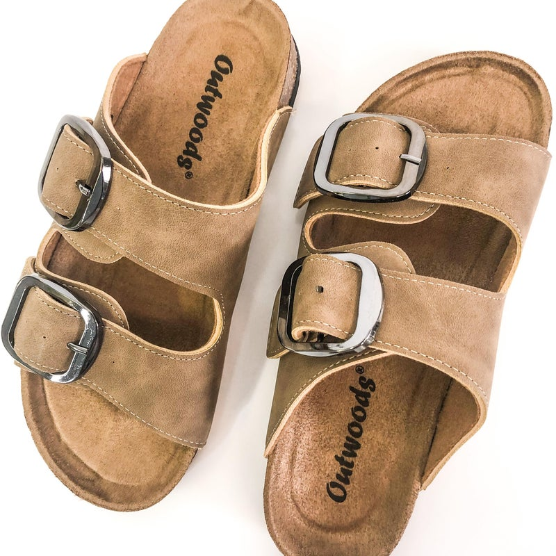 Taupe Buckle  Birk