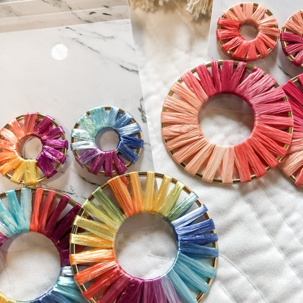 Fun Circles Earring Collection - 2 Colors