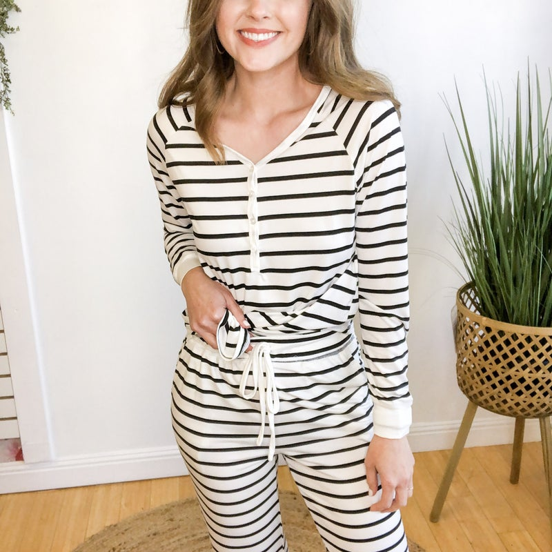 Stripe PJs +