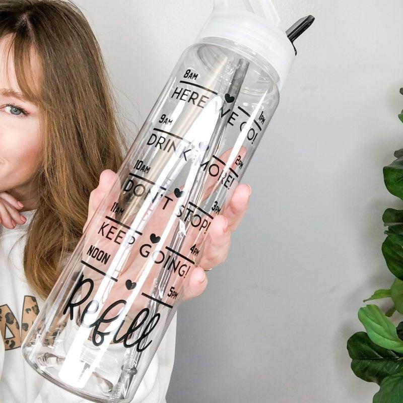 H2O Tracker Bottle - 3 designs