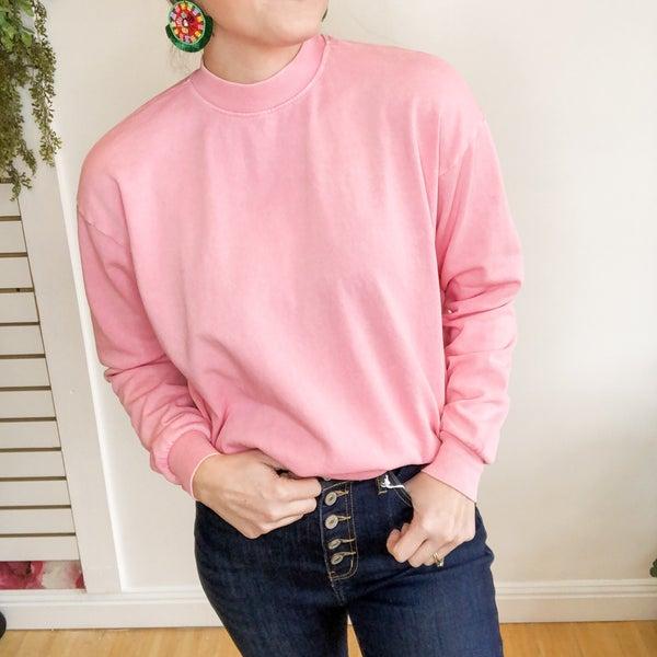 Vintage Washed Sweatshirt  -2 colors