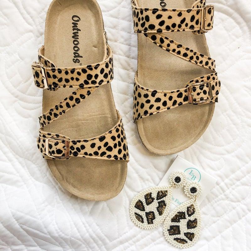 Cheetah Birk Sandal