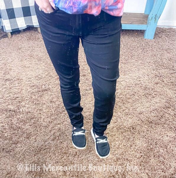 Judy Blue Black High Waist Skinny Jeans JB83105