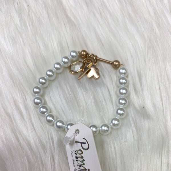 Storm Charm Pearl Bracelet