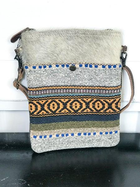 Myra Tribal Pattern Small & Crossbody Bag