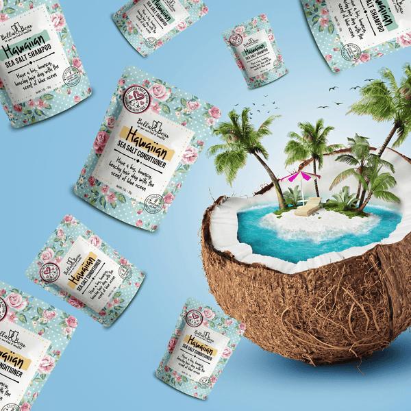 Bella & Bear Hawaiian Sea Salt Shampoo Travel Size