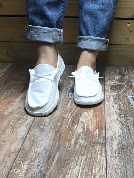 White Holly Boat Shoe