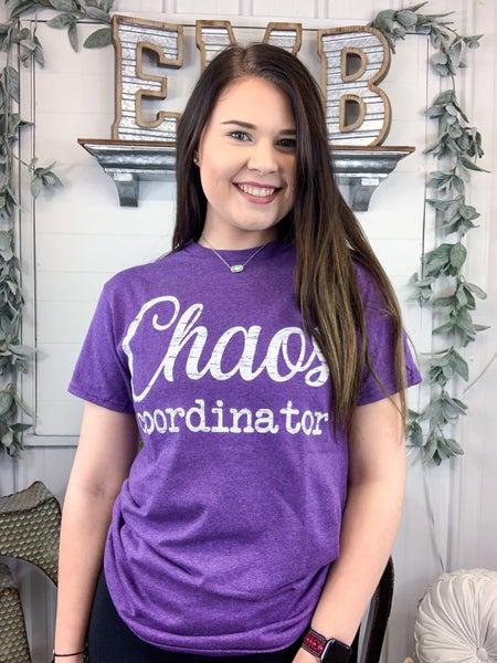 Chaos Coordinator T-Shirt - ALL SALES FINAL