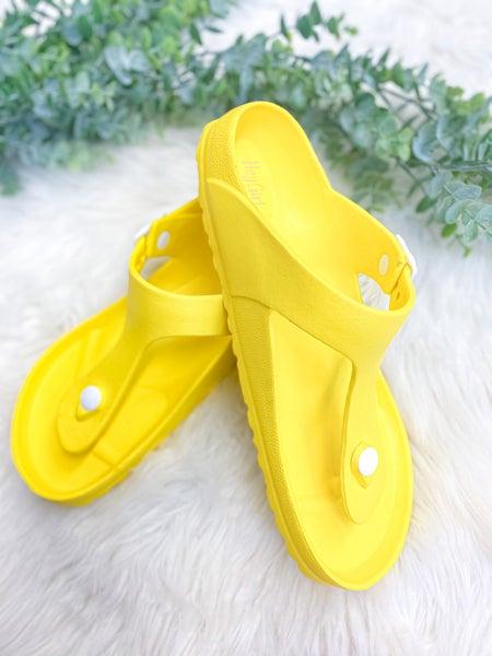 Corkys Jet Ski Sandal Yellow