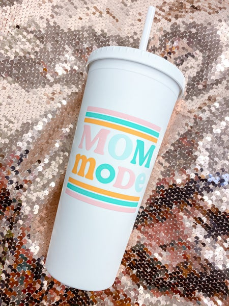 Mom Mode 22oz Tumbler