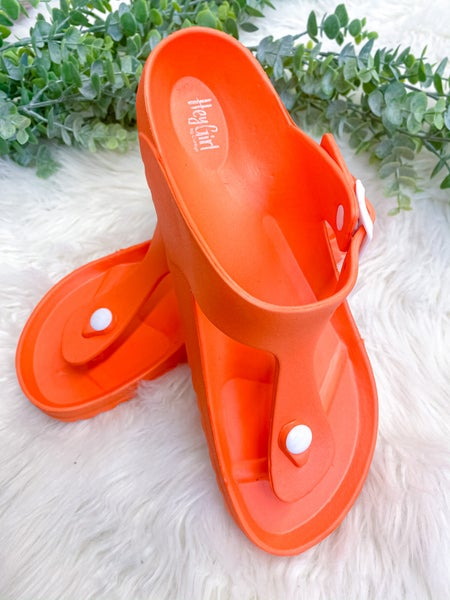 Corkys Jet Ski Sandal Orange