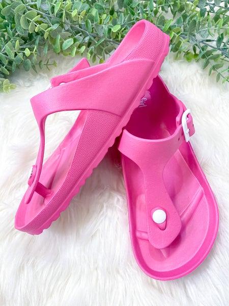 Corkys Jet Ski Sandal Pink