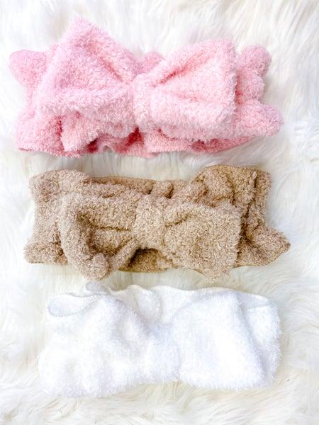 Fleece Spa Headband (ONLINE ONLY)*