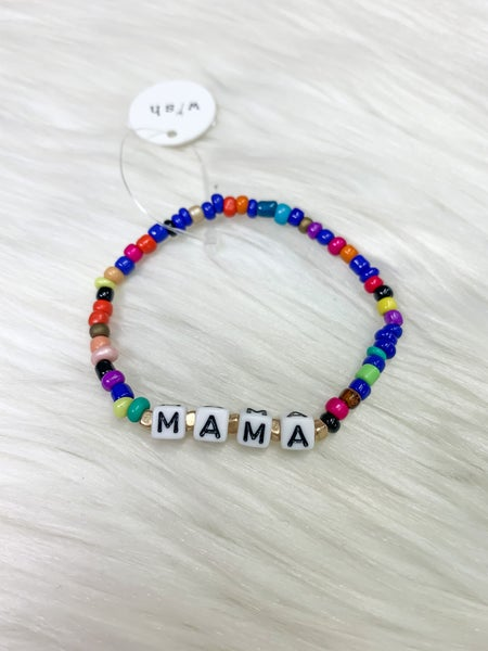 """Mama"" Bead Bracelet (ONLINE ONLY)*"