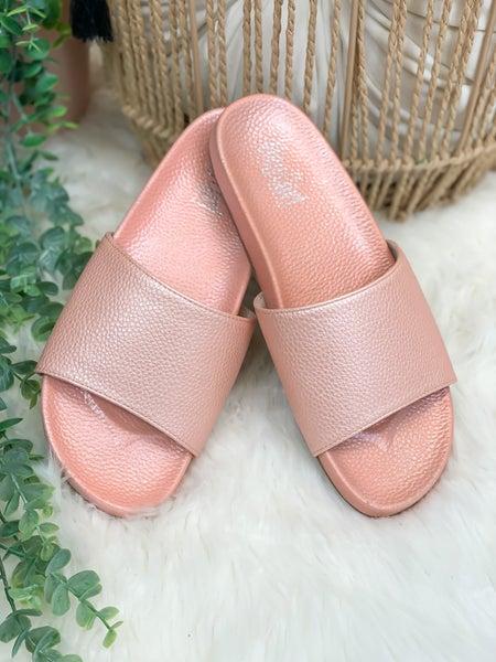 Corkys Backyard Sandal - Blush - ALL SALES FINAL -